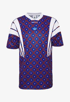 T-shirt print - blue/purple
