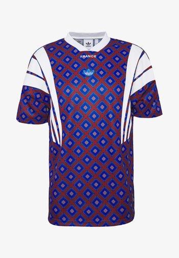 T-shirt z nadrukiem - blue/purple