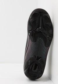 Nike Performance - MERCURIAL JR 7 ACADEMY FG/MG UNISEX - Moulded stud football boots - black - 5