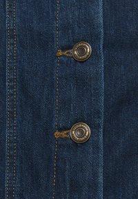 Springfield - FALDA MIDI VOLANTES - Denim skirt - medium blue - 2