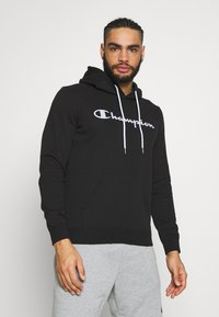 Champion - HOODED - Huppari - black - 0