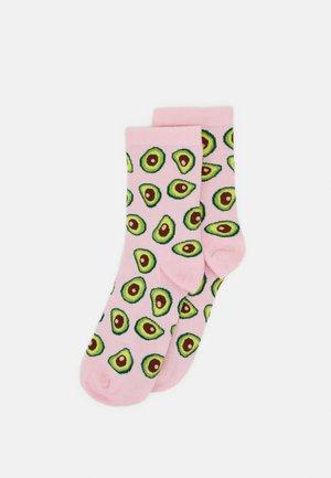 POLLY SOCK AVOCADO 2 PACK - Socks - pink dusty light