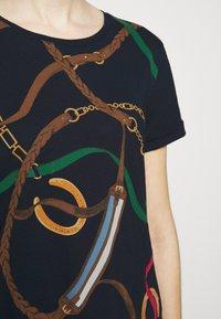 Lauren Ralph Lauren - T-shirt imprimé - navy/multi-coloured - 6