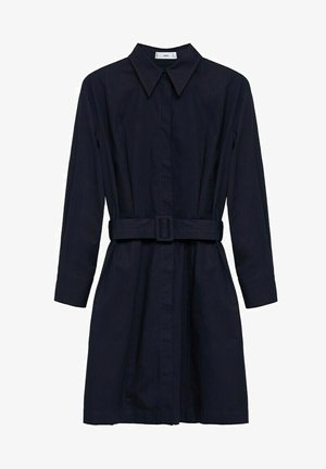 Shirt dress - azul marino