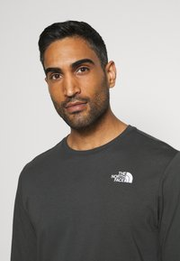 The North Face - MENS BOX TEE - Langærmede T-shirts - anthracite - 3