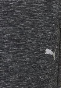 Puma - EVOSTRIPE PANTS - Tracksuit bottoms - black heather - 6