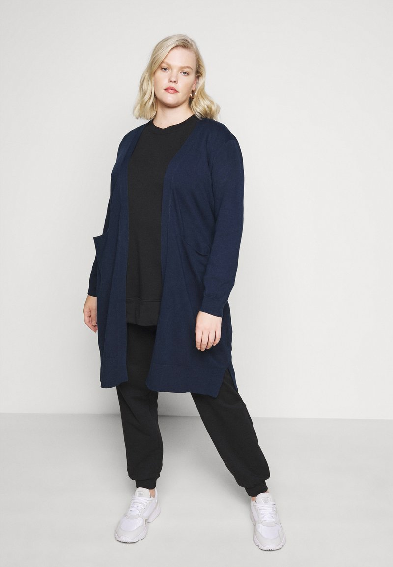 Anna Field Curvy - Cardigan - blue