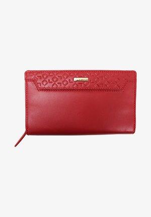 CON PORTAM - Wallet - rosso