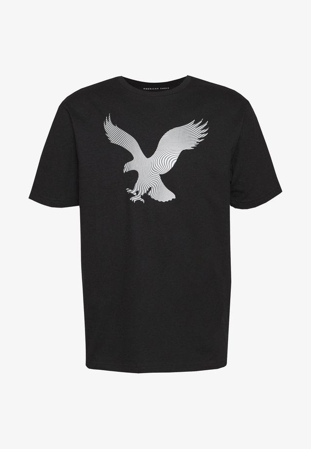 TEE BRAND - T-shirts med print - black