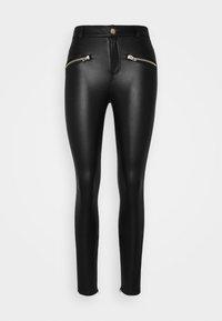 ONLY Petite - ONLHENRIETTA - Trousers - black - 4