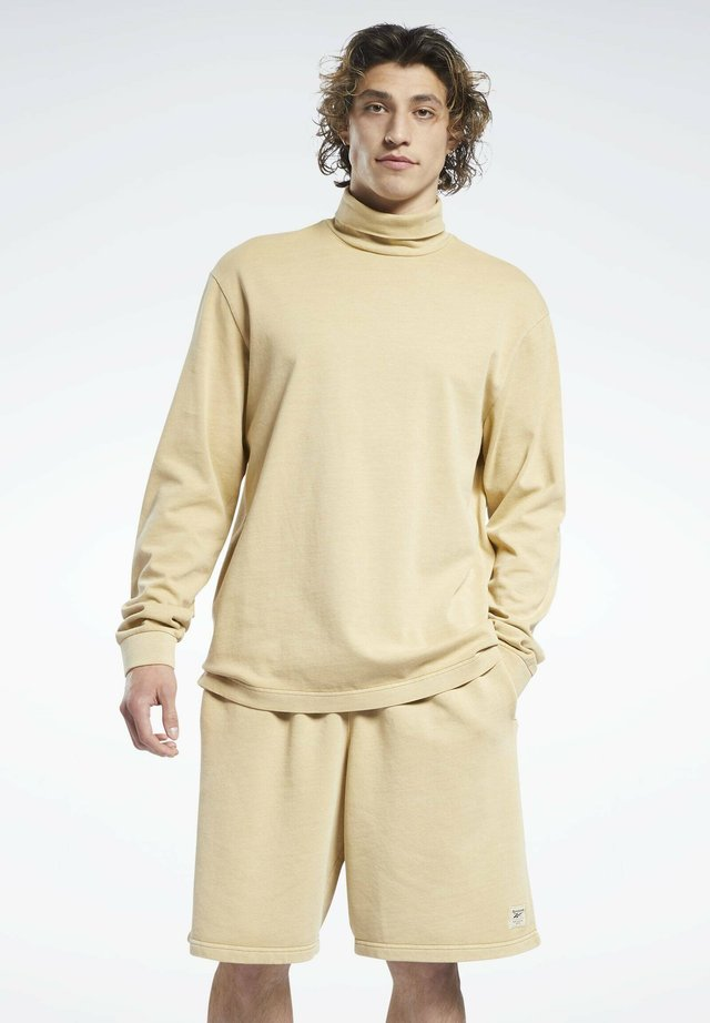 Maglietta a manica lunga - beige