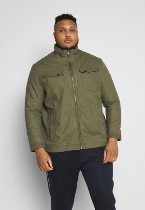 CASUAL TOUCH - Giacca leggera - olive night green