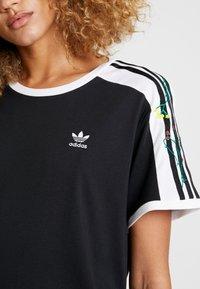 adidas Originals - DRESS - Jerseykleid - black - 5