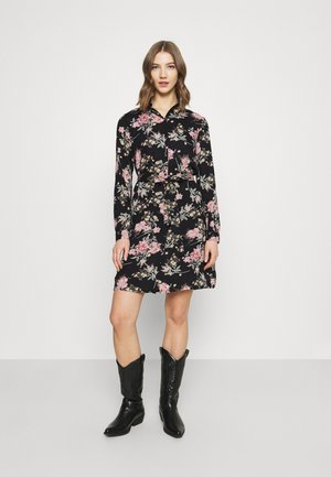 PCPAOLA LS DRESS - Shirt dress - black