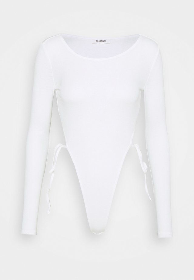 BONNIE BODY - Long sleeved top - white