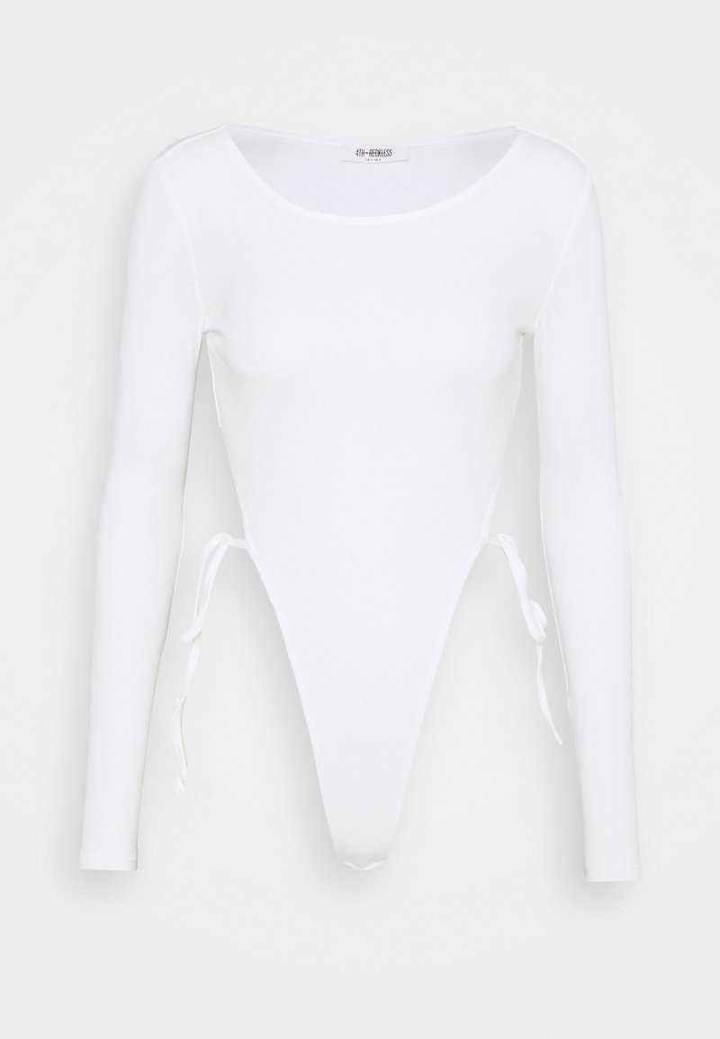 4th & Reckless - BONNIE BODY - Long sleeved top - white