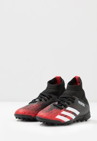 adidas Performance - PREDATOR 20.3 TF - Astro turf trainers - core black/footwear white/active red - 3