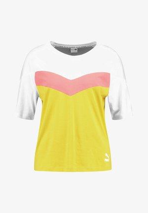 T-shirt z nadrukiem - sulphur