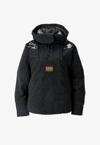 G-Star - TECH PADDED HOODED MID - Vinterjakke - dk black - 5