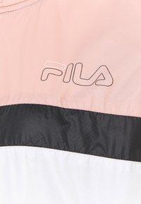 Fila - JADA BLOCKED JACKET - Training jacket - coral cloud/bright white/black - 6