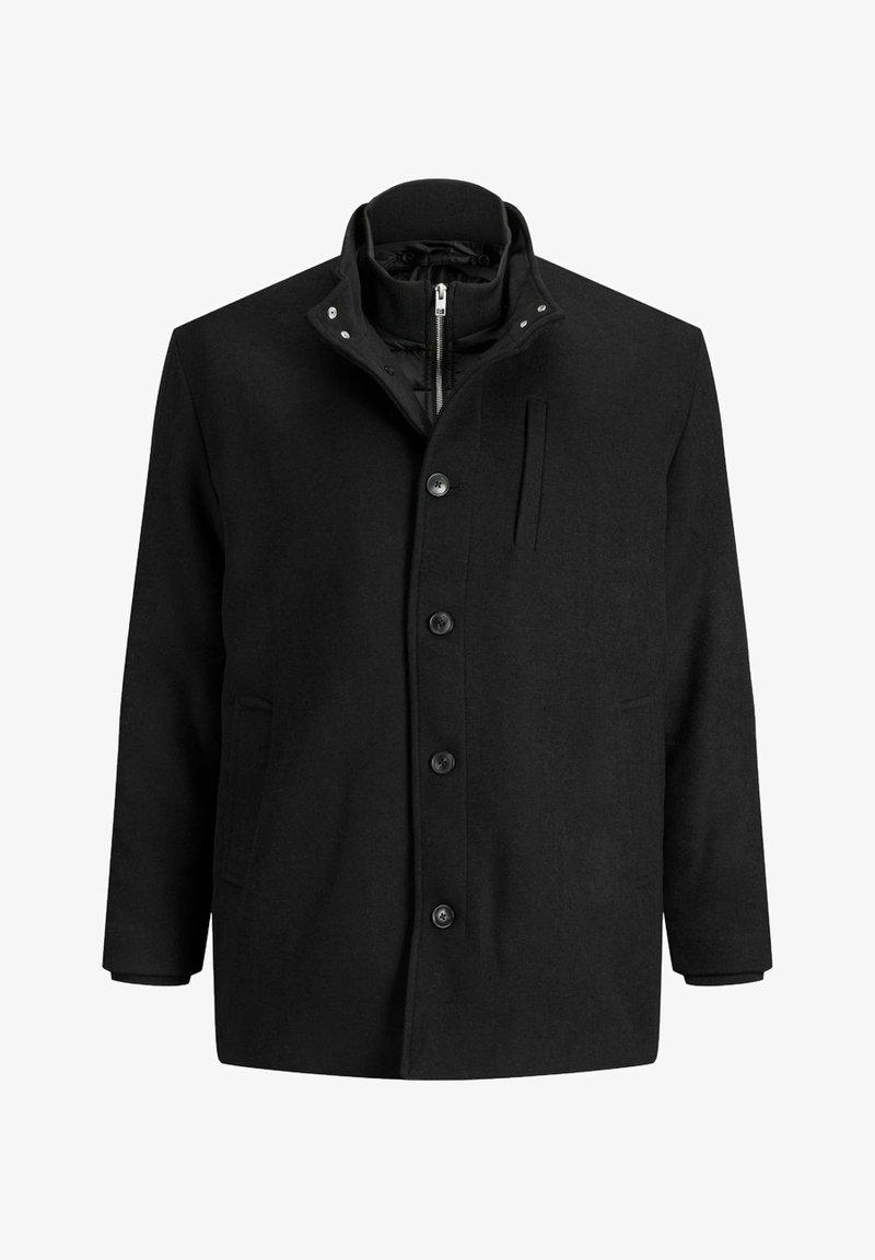 Jack & Jones - Pitkä takki - black