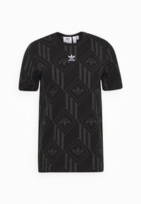 adidas Originals - MONO TEE  - T-shirt imprimé - black - 4