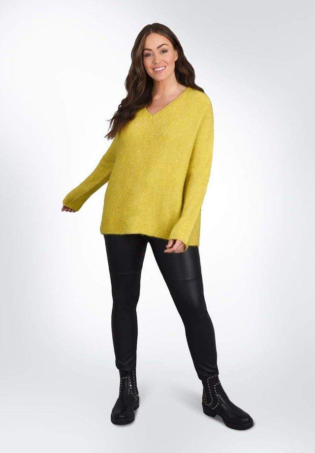 BOXY  - Sweter - dark yellow