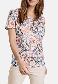 Gerry Weber - Print T-shirt - rot/orange/blau multicolor - 1