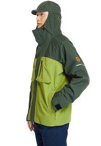 Timberland - Waterproof jacket - duffel bag calla green - 4