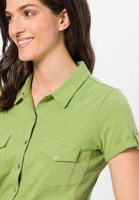 zero - Button-down blouse - grass green - 3