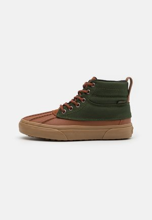 SK8 DEL PATO MTE UNISEX - High-top trainers - tortoise shell/kombu green