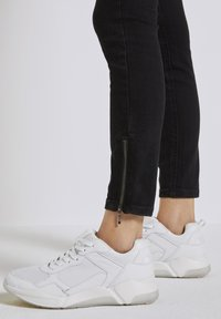 TOM TAILOR DENIM - Jeans Skinny Fit - used dark stone black denim - 5