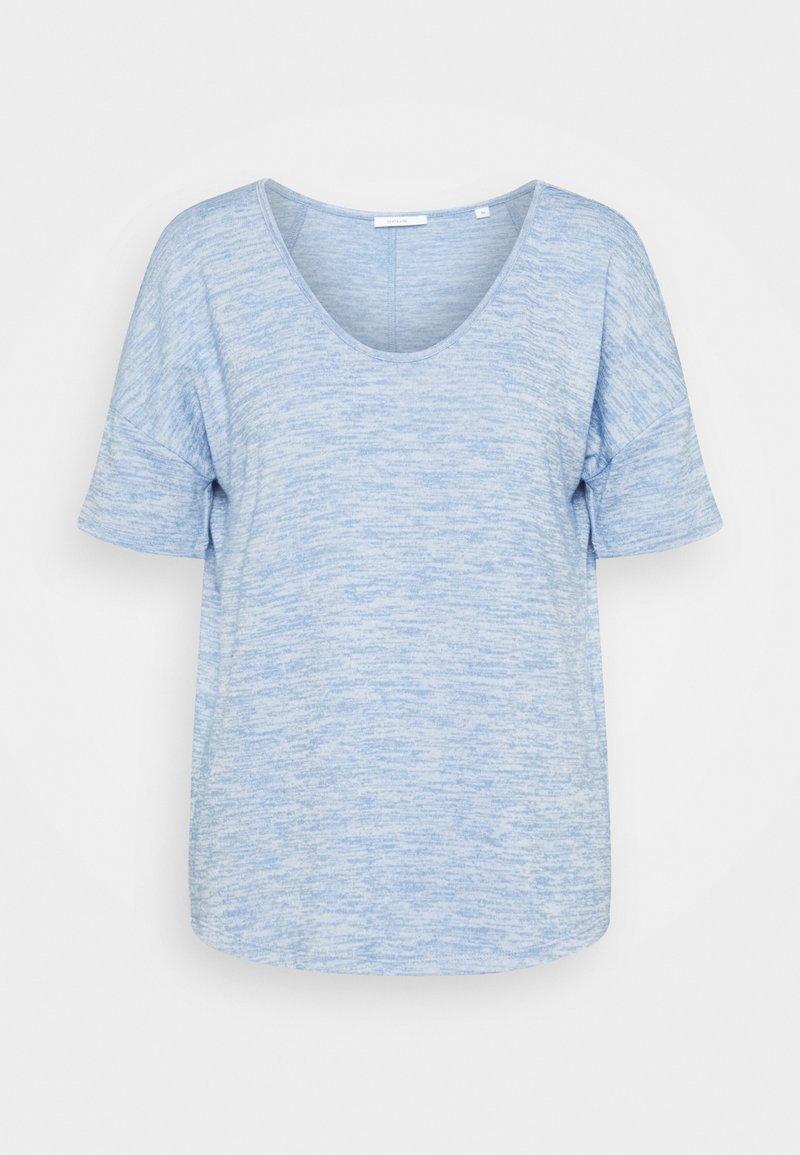 Opus - SOFIENA - Basic T-shirt - blue mood