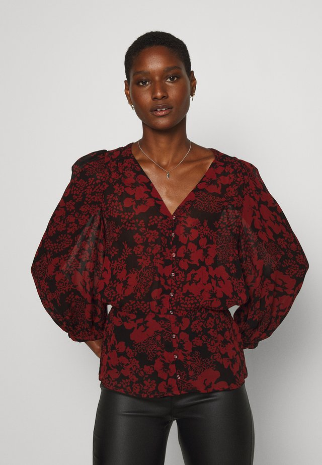 FLORIZZA BLOUSE - Pusero - cayenne poetic