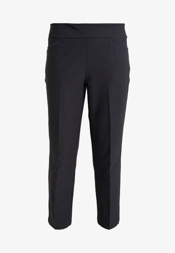 PULLON ANKLE PANT - Trousers - black