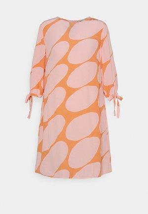 HEHKUU LINSSI DRESS - Day dress - coral/pink