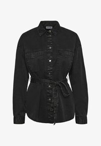 Noisy May - Button-down blouse - black - 0