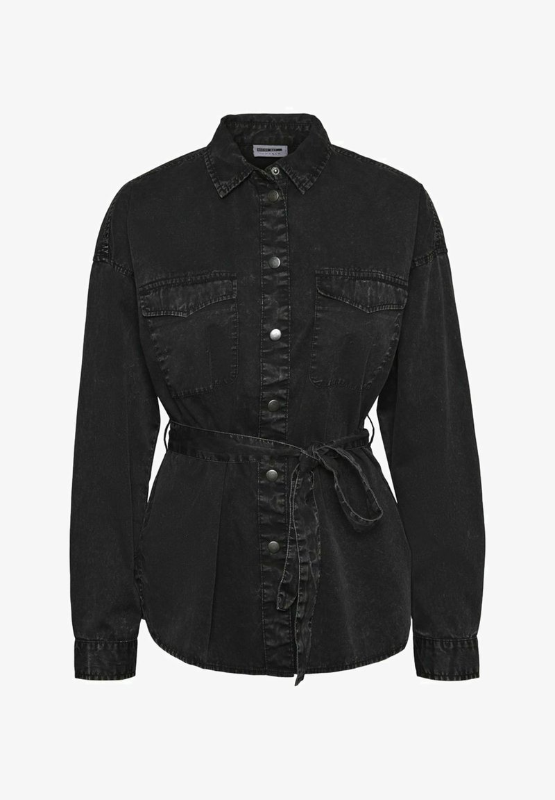 Noisy May - Button-down blouse - black