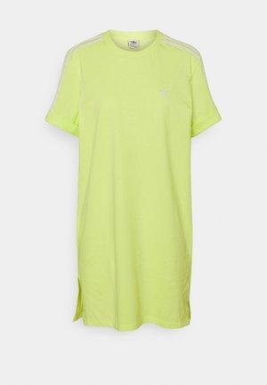 TEE DRESS - Jersey dress - pulse yellow