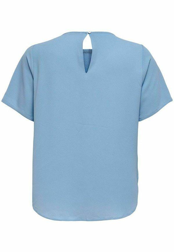 ONLY Carmakoma CARLUXMILA SOLID - T-shirt basic - allure/jasnoniebieski RSTO