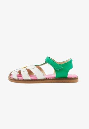 Sandals - weiß, blume