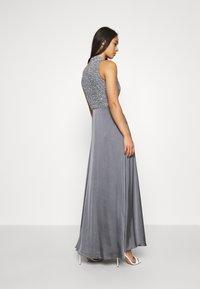 Lace & Beads - LIZA MAXI - Společenské šaty - charcoal grey - 2