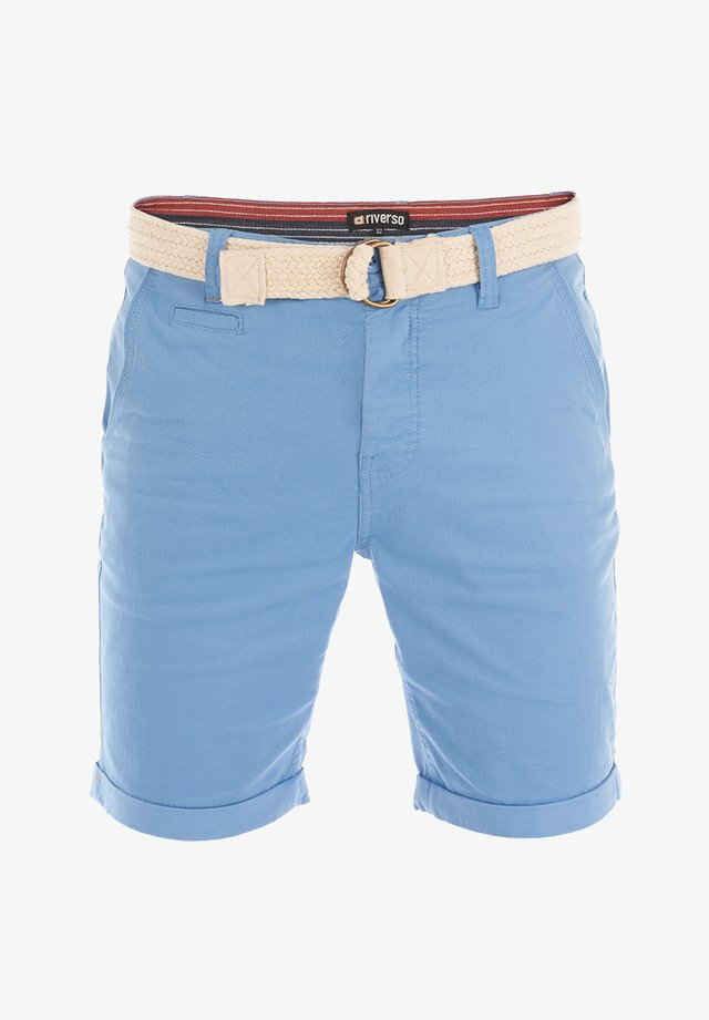 RIVHENRY - Shorts - middle blue