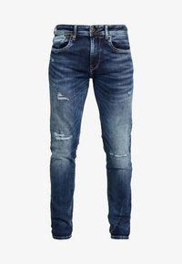 Pepe Jeans - HATCH POWERFLEX - Slim fit -farkut - dark used - 3