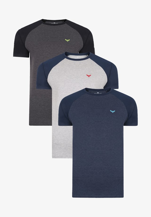 3ER PACK - T-shirt basic - multi