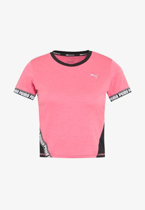 LAST LAP CROPPED TEE - T-shirts print - bubblegum heather