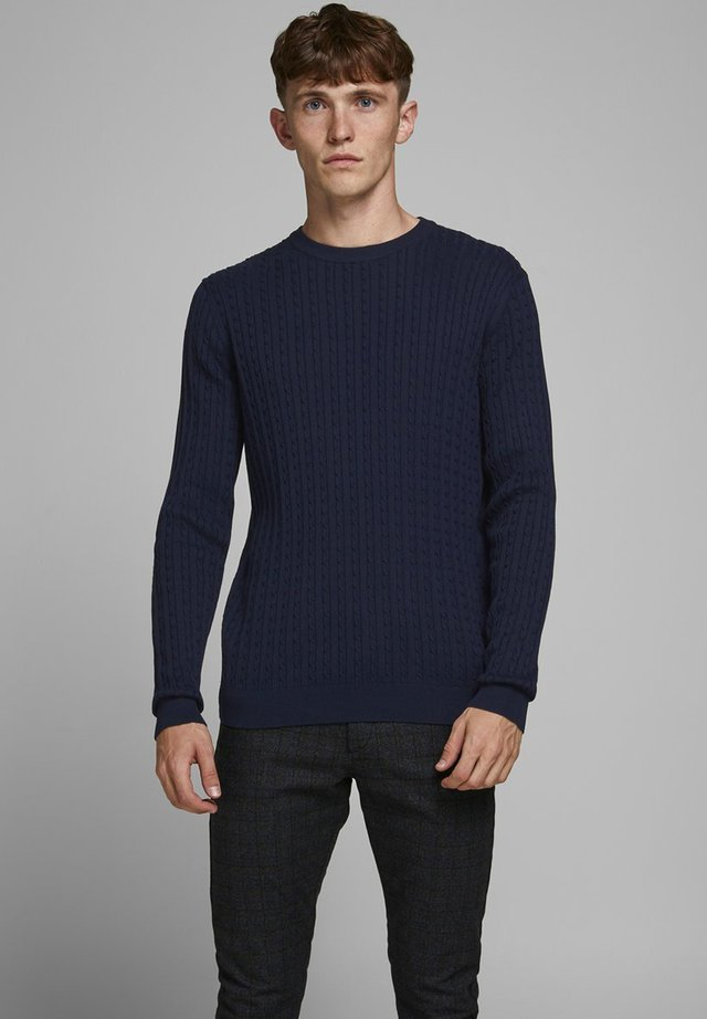 Strickpullover - maritime blue
