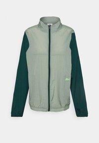 OLLIE TRACK JACKET - Sportovní bunda - green