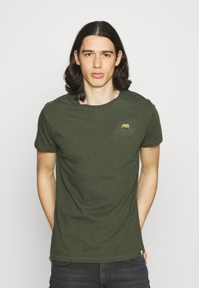 REGULAR - T-shirt basique - army