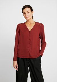 Vero Moda - VMEMMA - Blouse - madder brown - 0